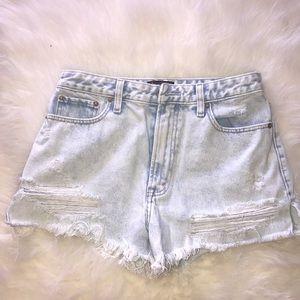 Abercrombie cut off shorts